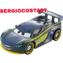 Disney Cars Carros 2 Lewis Hamilton Carbon Racer - Loose