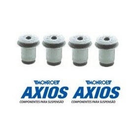 Kit 4 Buchas Balança Superior Blazer E S10 - Axios