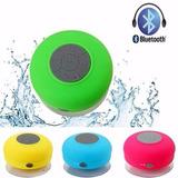 Bocina Bluetooth Regargable Para Baño Contra Agua Regadera