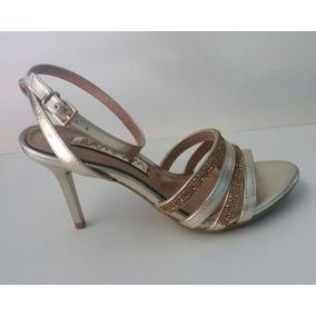 024 Sandalia Ramarim Metal Plus Ouro 1661201 Calçados Bola7