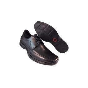 Sapato Democrata Air Stretch Modelo Novo 448026 Preto