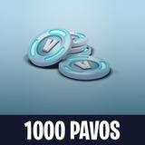 1000 Pavos V-bucks Fortnite