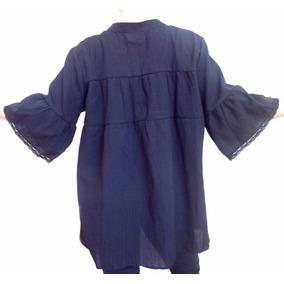 Blusa Bambula Larga Camisola Talles Grandes Especial