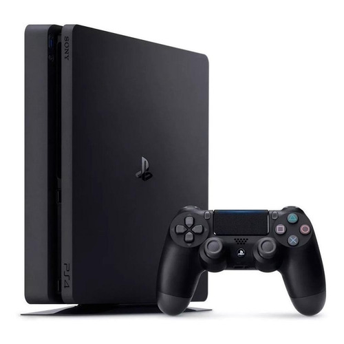 Sony PlayStation 4 Slim 1TB Hits Bundle: Days Gone/Detroit: Become Human/Tom Clancy's Rainbow Six Siege Deluxe Edition color  negro azabache