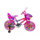 Bicicleta Barbie Rin 16 Niñas De 6 A 10 Años