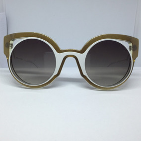 0902e5c9371e5 Óculos Da Marca Versat Gold Fendi - Óculos De Sol no Mercado Livre ...
