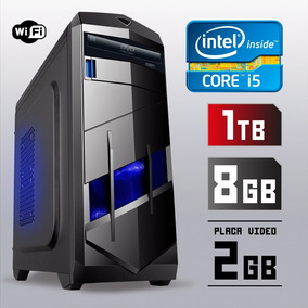 Pc Cpu Gamer I5 3.2ghz 8gb 1tb Placa Video 2gb + Kit Gamer!