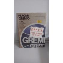Revista Placar Gremio Extra Superposter Disco E Adesivos