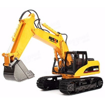 Trator Retro Escavadeira Controle Remoto 15ch Frete Grátis