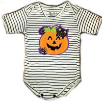 Disfraz Halloween - Pañalero Calabaza Y Gato Y Otros Mas...