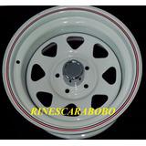 Rin De Acero 5 Huecos 15x8, Dodge, Jeep, Ford
