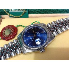 Rolex Datejust Acero Zafiro Cambio Rapido Seminuevo Sub Cart