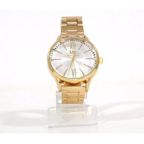 Relógio Feminino Dourado Michael Kros