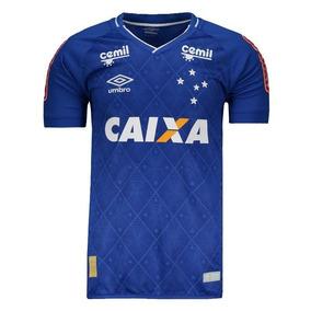 Camisa Umbro Cruzeiro I 2017 Jogador Com Patrocínio