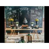 Locação Painel Chalkboard, Lousa Preta