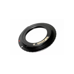 Anel Adaptador De Lente M42 Com Chip P Câmera Canon Eos