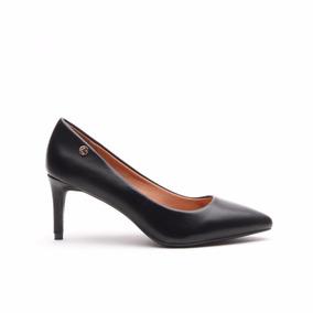 Zapato Mujer Lady Stork Wendy Vestir Taco Medio
