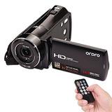 Ordro Hdv-v7 1080p Full Hd Cámara De Vídeo Digital Camcor...