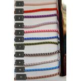 Protector Cable Celular Espiral 3 Colores En 1 (45cm)