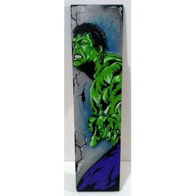 Decoracion Cuadros Superheroes Figura Hulk Marvel Dc Y Mas