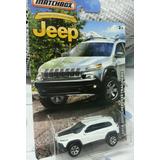 Matchbox Jeep 2014 Cherokee Trailhawk 75 Aniversario Usa