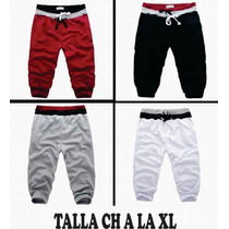 Pants 3/4 Moda Japonesa Capri Asiatico Corto
