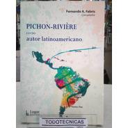 Pichon Riviere Como Autor Latinoamericano -LG