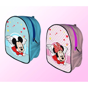 Mochila Dulcero Baby Mickey Mouse Minnie Recuerdos Bautizo