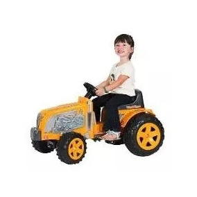 Trator Infantil Amarelo Pedal Buzina - Biemme (61171)