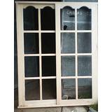 Puerta.ventana Madera 2 X 150