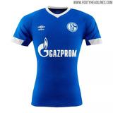 0131961fc3 Camisa Schalke 04 Azul Masculina 2018 19 Umbro Frete Grátis