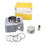 Kit Cilindro Motor Ybr / Xtz 125 Metal Leve /ret/juntas