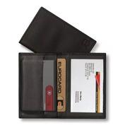 Porta Cartões Swisscard Em Couro Victorinox