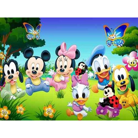 Painel Decorativo Festa Turma Do Mickey Baby [3x1,7m] (mod3)