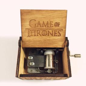 Caixa De Música Tema Game Of Thrones Frete Grátis C002