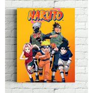 Quadros Naruto Impressão Em Tela De Pintura 30x40cm