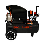 Compresor De Aire 25 Litros 1500w 8 Bar 115 Psi 2 Hp Kushiro
