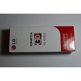 Lg Cine 3d Gafas Ag-f Nuevo Modelo 2 Pares Negro