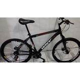 Bicicleta Wny/gallo Alumunio 21v C/suspensão,freio A Disco