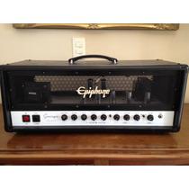 Epiphone 50 Cabeçote Valvulado Soldano Fender Marshall Troco