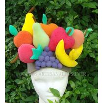Gorro Con Frutas Y/o Verduras Goma Espuma Cotillon