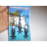 Isca Artificial Camarão Flex - 10 Cm - Cor 3 - Ferrinho Soft