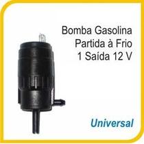 Bomba Injetora Água Para-brisa Gasolina Part.frio 12v Univ.