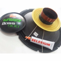 Kit Reparo Alto Falante Jbl Selenium Street Bass 900 12w4a