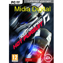 Need For Speed Hot Pursuit Pc Em Hd + Brind Original!!