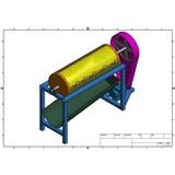 Planos Diseño Fabricar Maquina Piladora De Maiz Trilladora
