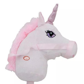Unicornio De Pau Musical Rosa - Bbr Toys