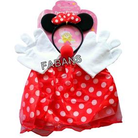 Disfraz Minnie Mouse Mariposa Bebe Tutu + Accesorios Niña