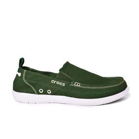 Crocs Originales Walu Verde Hombre 34k