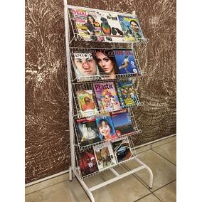 Expositor De Livros E Revistas Revisteiro Aramado
